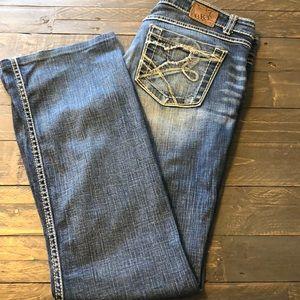 BKE Sabrina Midrise Boot Jeans